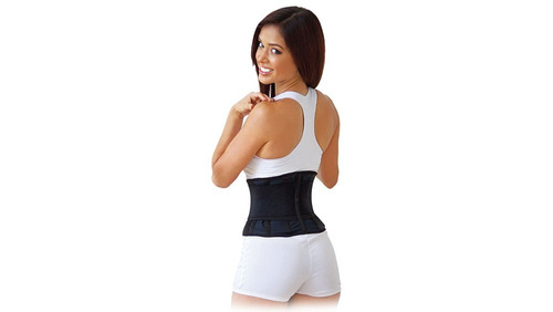 cinta faixa neoprene abdominal auxiliar redução medidas h b