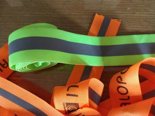 cinta fluo - reflectiva combinada 50mm sello iram palopoli