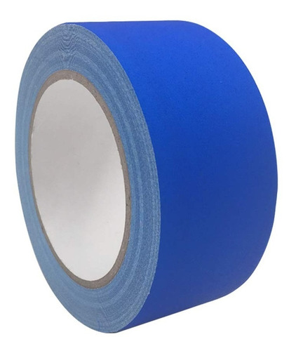 cinta gaffer azul 5cm x 27m fotografía video cine estudio