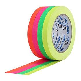 Cinta Gaffer Fluorescente Progaff X4 -1/2 Pulgada X20 Yardas