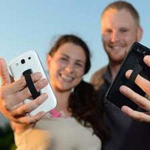 cinta gancho selfie teléfono celular tablets equiprogram