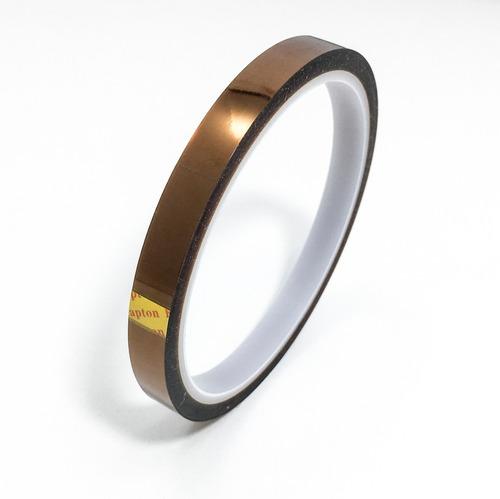 cinta kapton alta temperatura poliamida 9mmx33m:: printalot