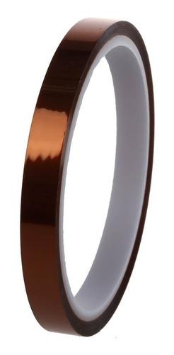 cinta kapton termica sublimaciones tape 10 mm x 33 mts