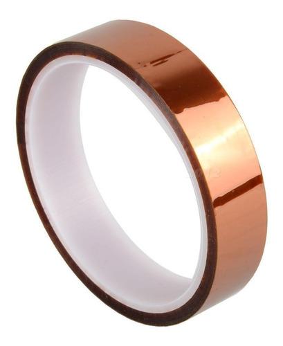 cinta kapton termica sublimaciones tape 20 mm x 33 mts