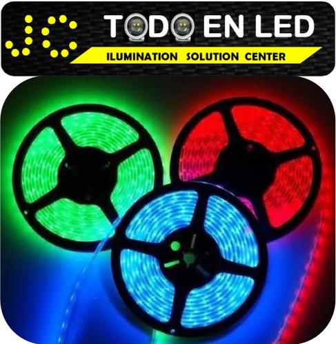 cinta led 5050 de 5 mts blanco-azul-verde-rojo todoenled.ec