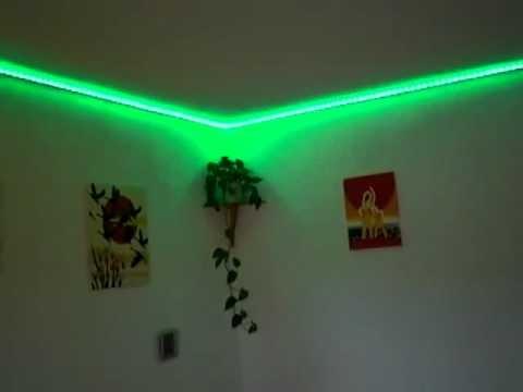 Cinta Led 5050 Rgb Para Decoracion Luces Sicodelicas Laser S 89 - Decoracion-led