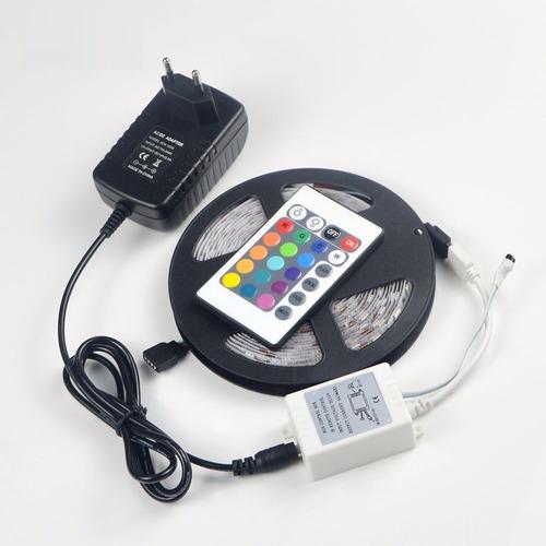 cinta led 5mts rgb 50/50 control remoto 300 leds
