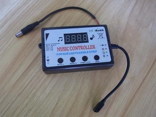 cinta led audiorritmica rgb 5 metros