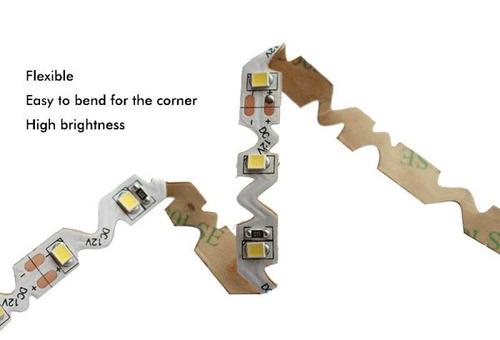 cinta led flexible ultrabrillo 12v 2835 5m blanco frío