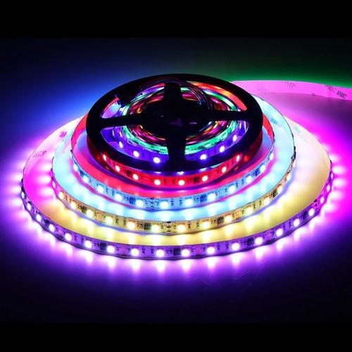 cinta led inteligente rgb full multicolor secuencial magic