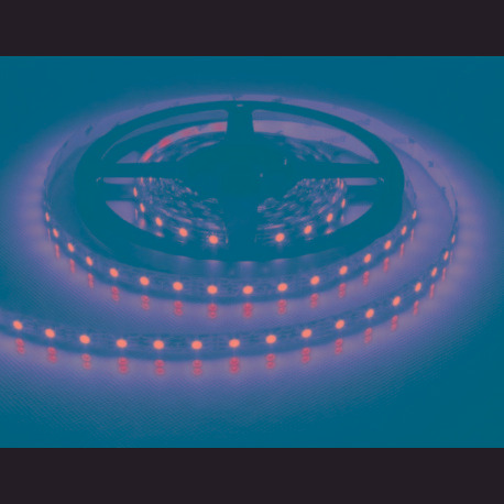 cinta led rollo 5 mts 5050/30 rojo / verde / azul - 12v