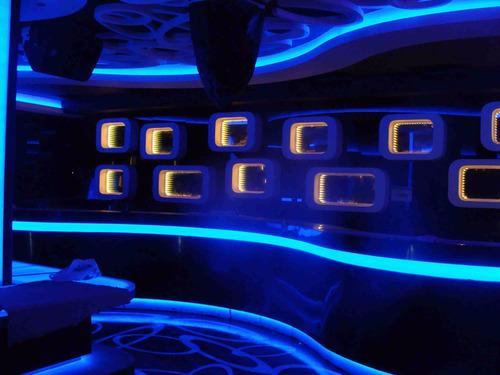 cinta led rollo tira rgb 5050 5mts control transformador