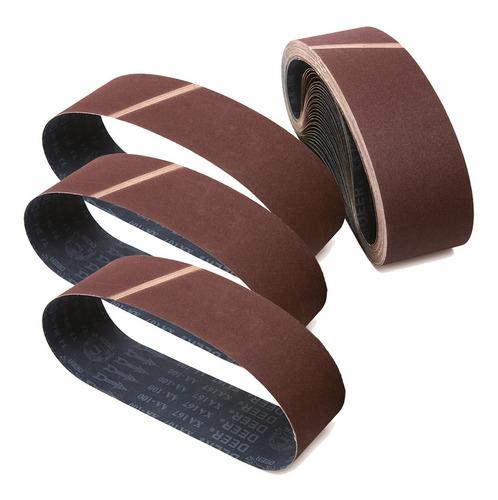 cinta lixa 533 x 75 ou 76mm p/ lixadeira manual 10un grao 36
