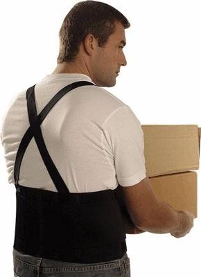 cinta lombar epi segurança faixa ergonômica coluna postura