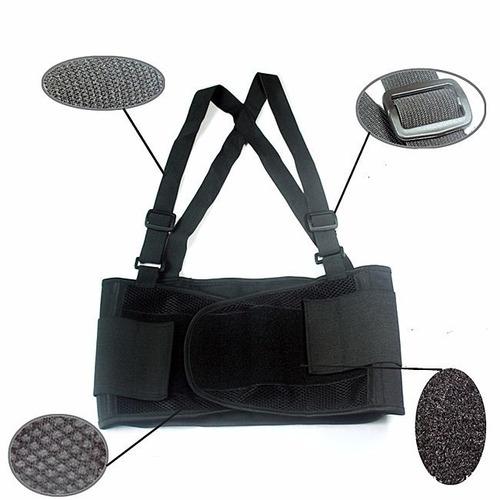 cinta lombar epi segurança faixa ergonômica coluna postural