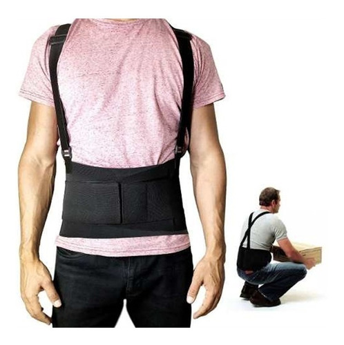 cinta lombar faixa corretor postural protege coluna abdomina