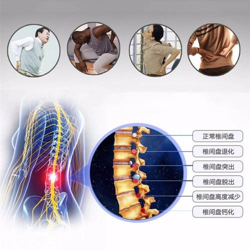 cinta lombar térmica para dores de coluna ciático hernia