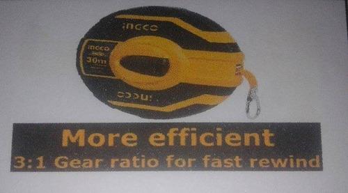 cinta métrica  30m fibra de vidrio marca ingco.