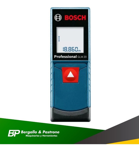 cinta métrica digital medidor de distancia bosch 20m glm20