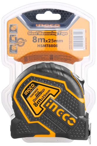 cinta metrica industrial 8 mt ingco 25mm hsmt8808-pa