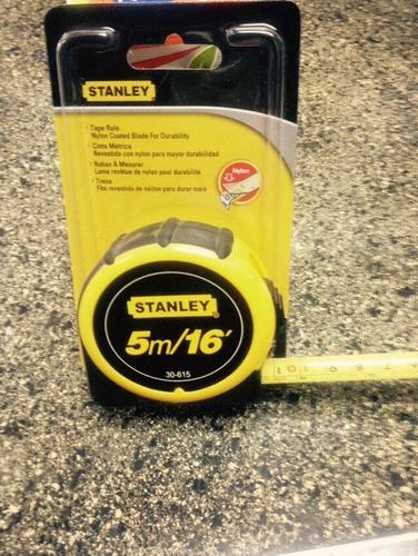 cinta metrica stanley 5m - metro stanley de 5