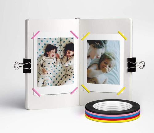 cinta mimoo arte gráfico, paquete de 8 pulgadas 2574 x 3 mm