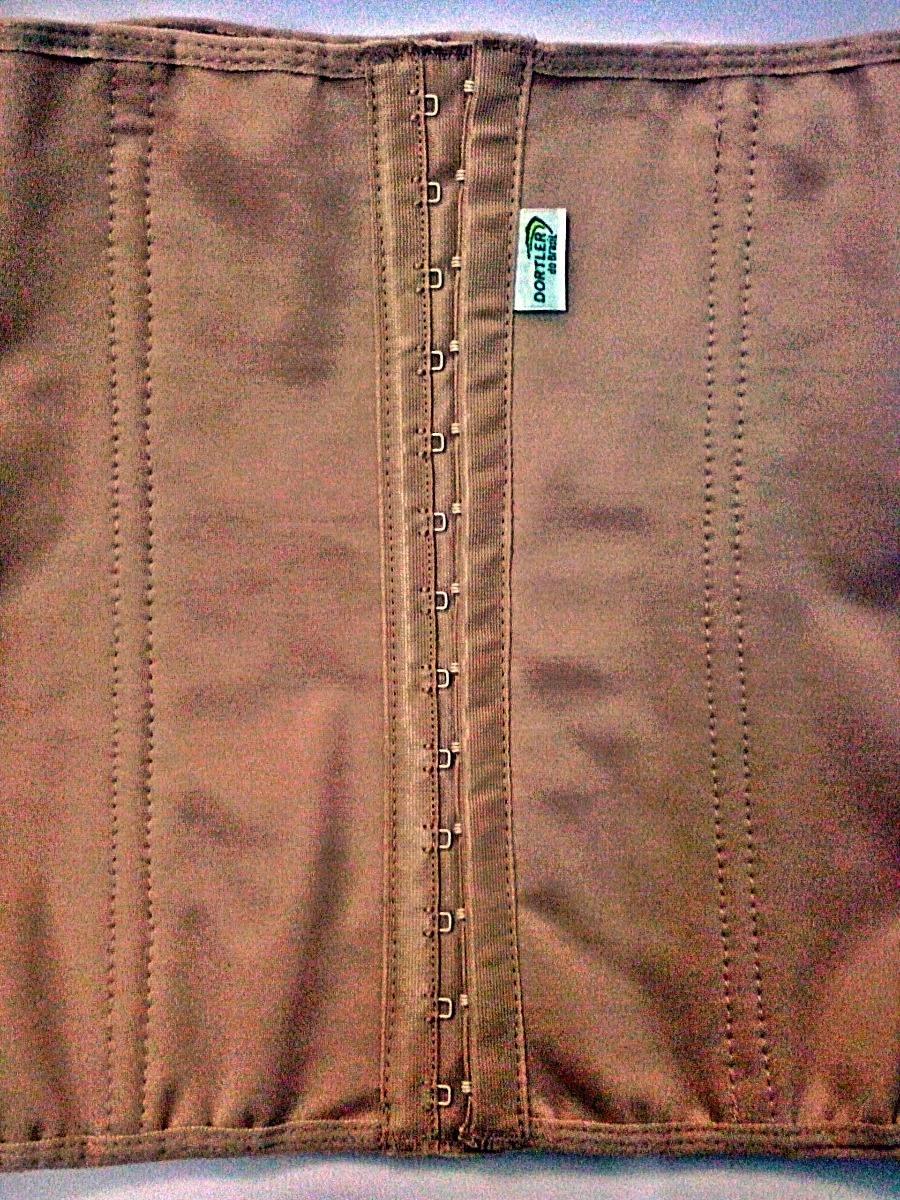 603fd1302 cinta modeladora abdominal com colchetes e barbatanas. Carregando zoom.