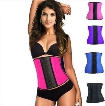 cinta modeladora abdominal feminina redutora corset