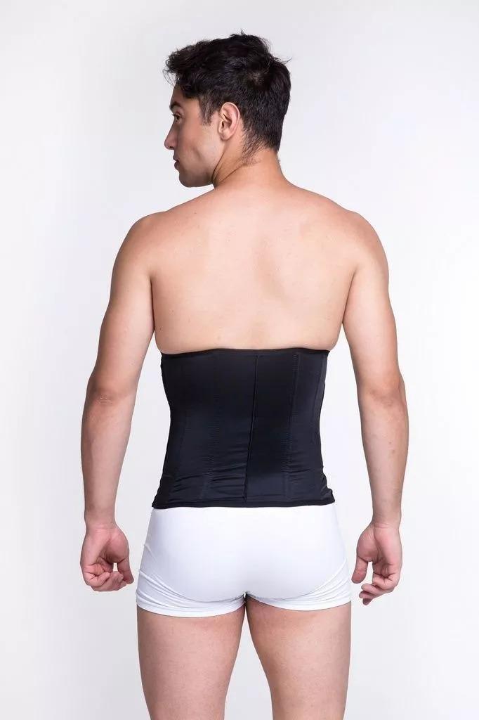 f48ab12f5 cinta modeladora abdominal masculina 8 barbatanas biobela. Carregando zoom.