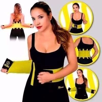 cinta modeladora abdominal slim belt emagrece e afina cintur