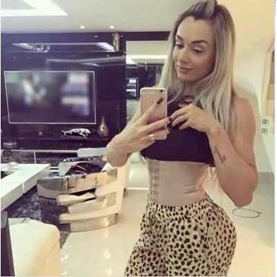 cinta modeladora de cintura juju salimeni  gracyane promoção