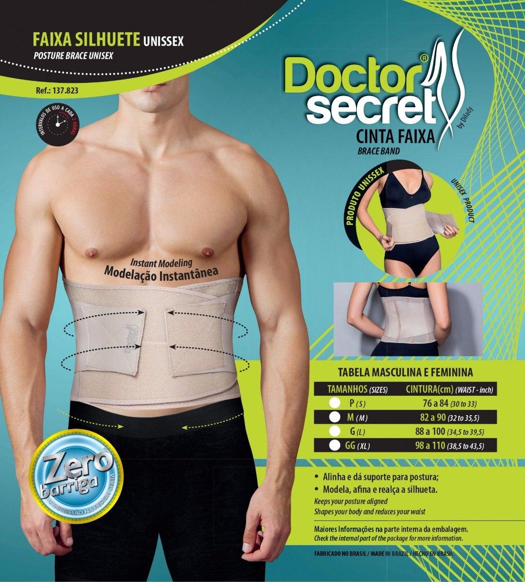 1e3f2b7a6 cinta modeladora faixa seca barriga unissex doctor secret. Carregando zoom.