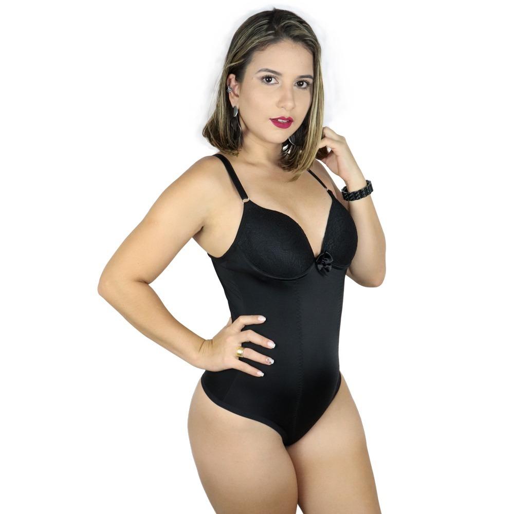 67fb95d39 cinta modeladora feminina tradicional com bojo com renda. Carregando zoom.