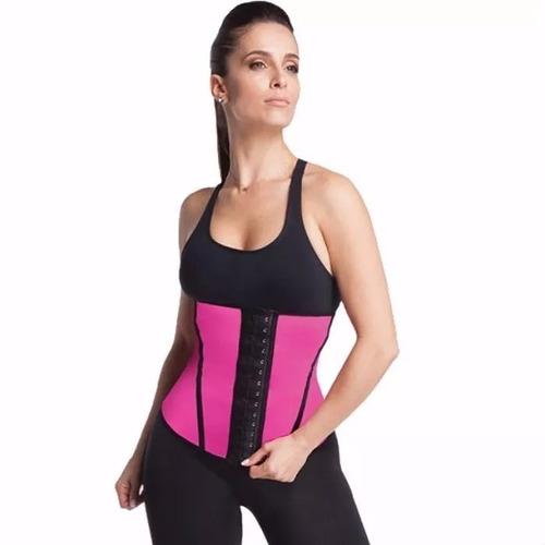 cinta modeladora fitness redutora emborrachada abdominal i01
