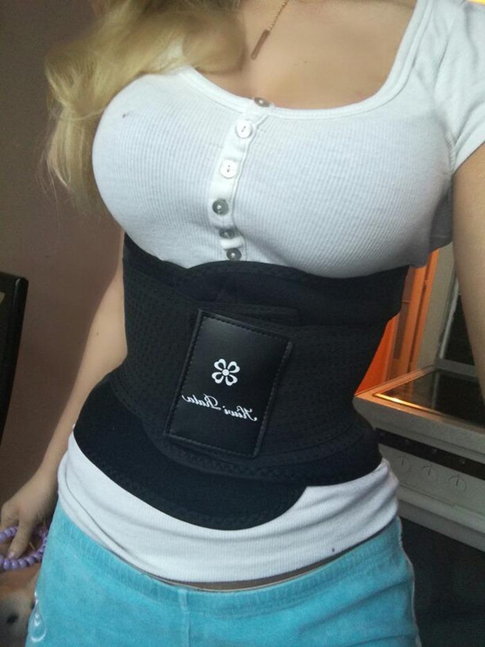 a4dc41ffe cinta modeladora importada ajustável feminina pronta entrega. Carregando  zoom.