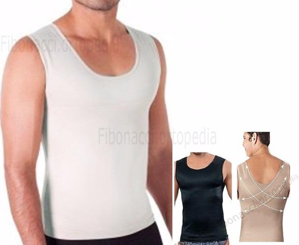 Cinta Modeladora Masculina - Compressão   Postural   Fitness - R  79 ... abfc8bee49f