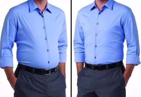 cinta modeladora masculina diminui barriga abdômen postura