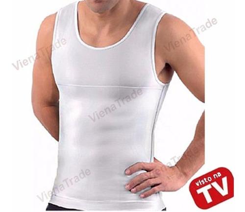 cinta modeladora masculina postural colete redutor +reforço
