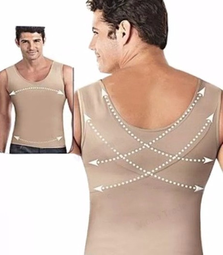 cinta modeladora masculina redutora e postural slim fitness