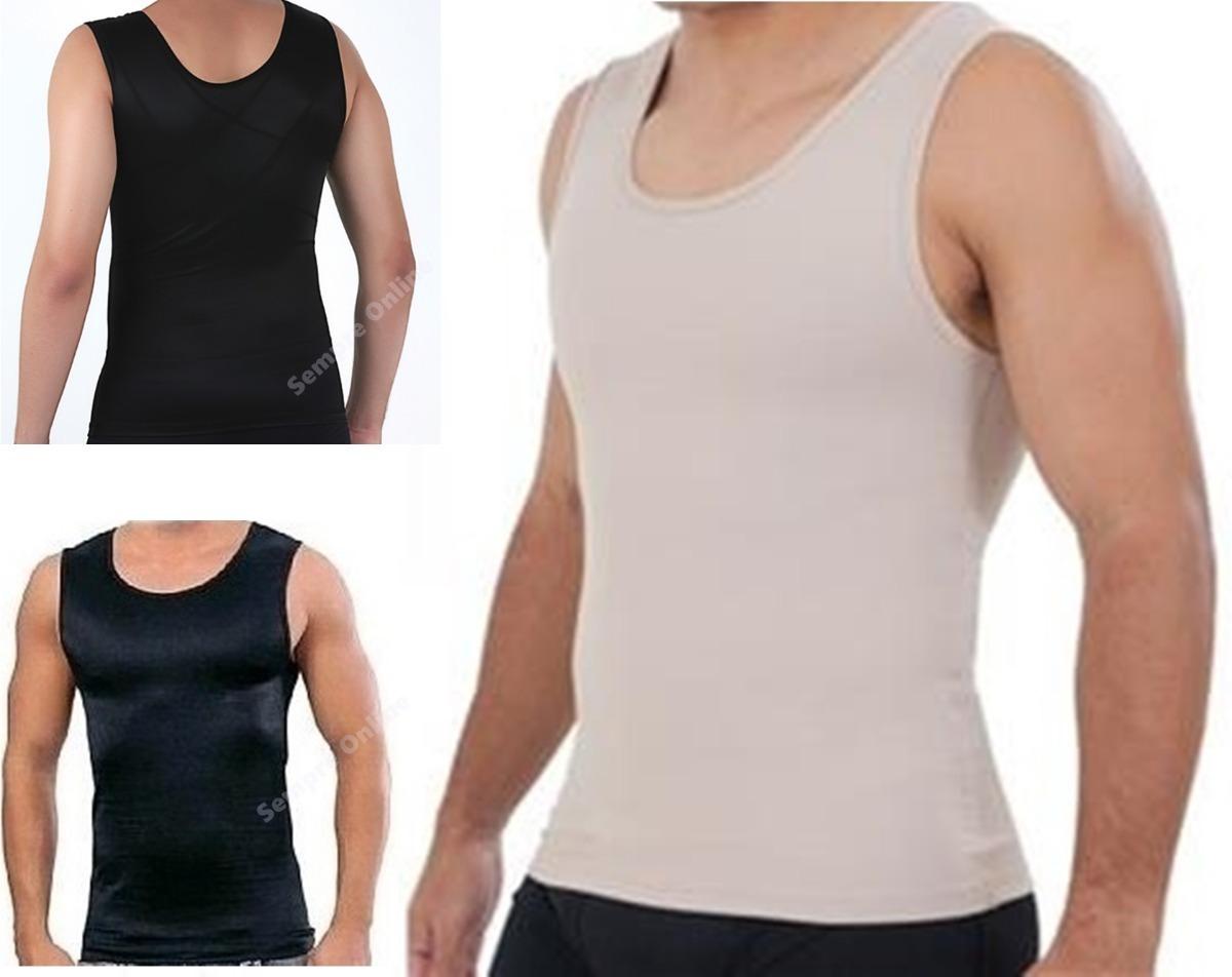cinta modeladora masculina regata colete postura t. especial. Carregando  zoom. 25f3a9cef2d