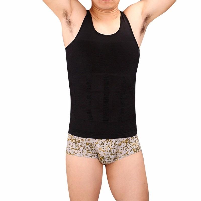 cinta modeladora masculina slim - colete compressão redutor. Carregando zoom . bdf5815375c