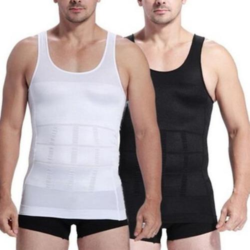 cinta modeladora masculina slim - colete redutor e postura