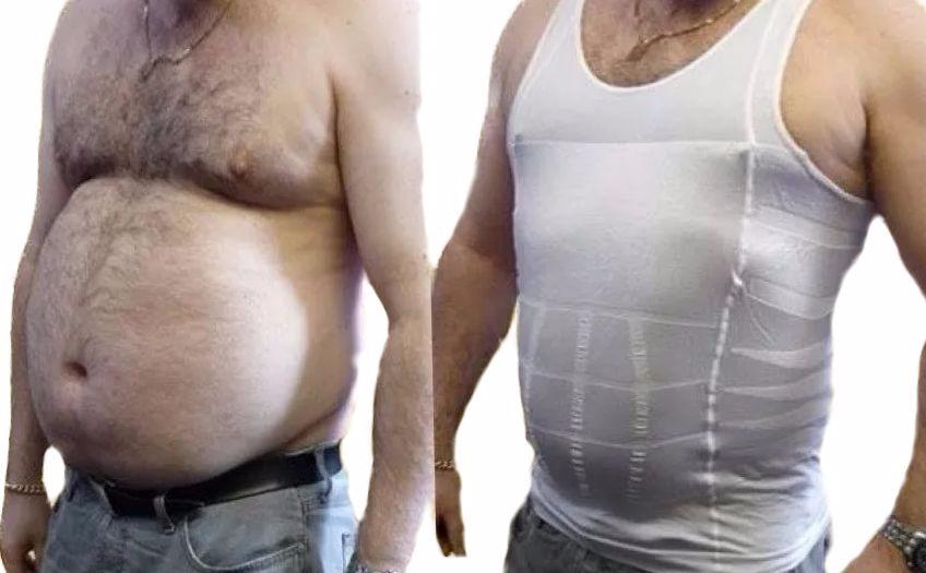 cinta modeladora masculina slim - colete- redutor e postural. Carregando  zoom. 5c41603bda4