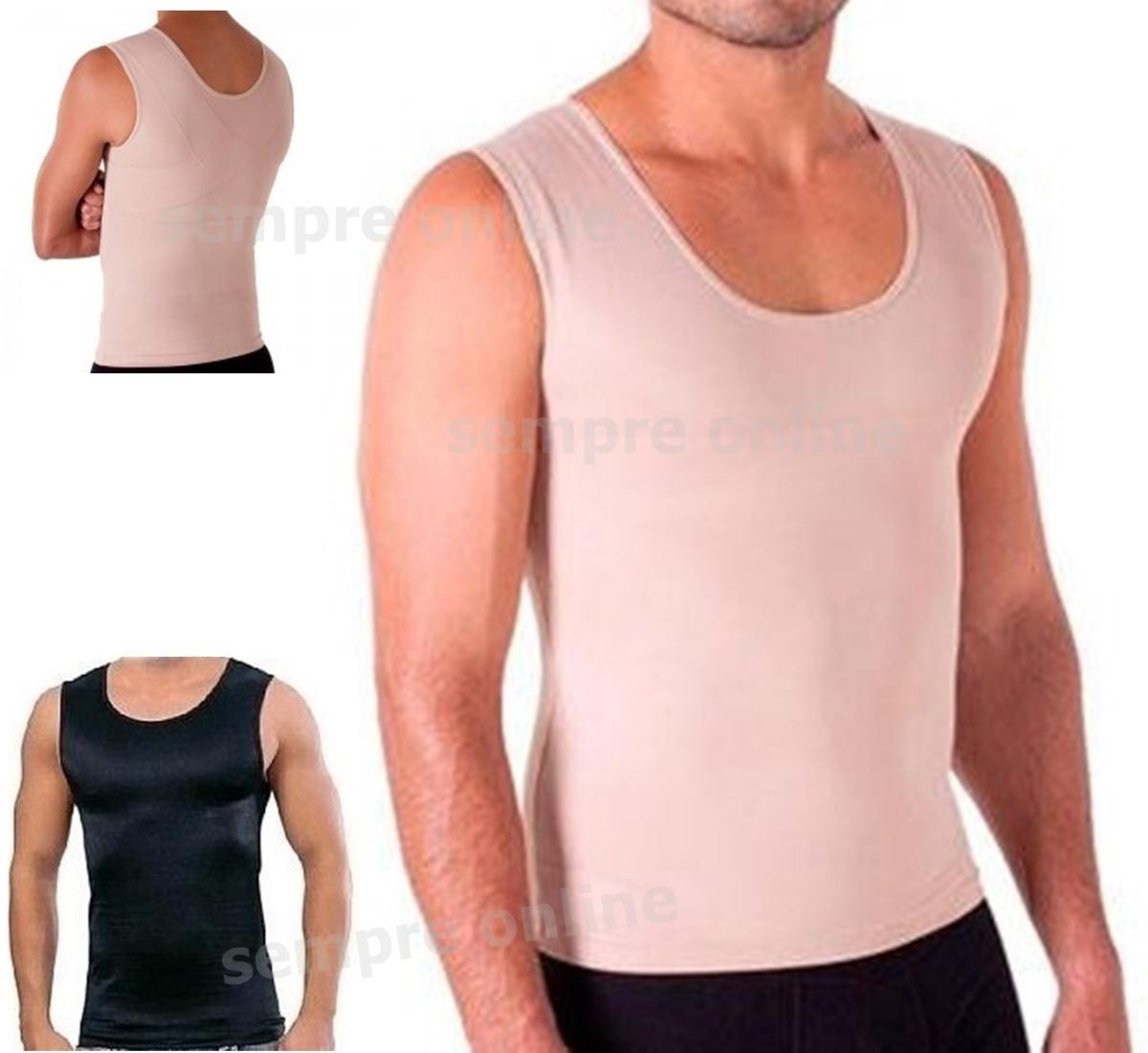 cinta modeladora masculina slim - colete- redutor e postural. Carregando  zoom. 41cc91d83895a