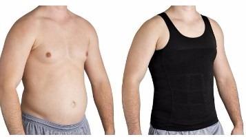cinta modeladora masculina slim fitness redutora e postural