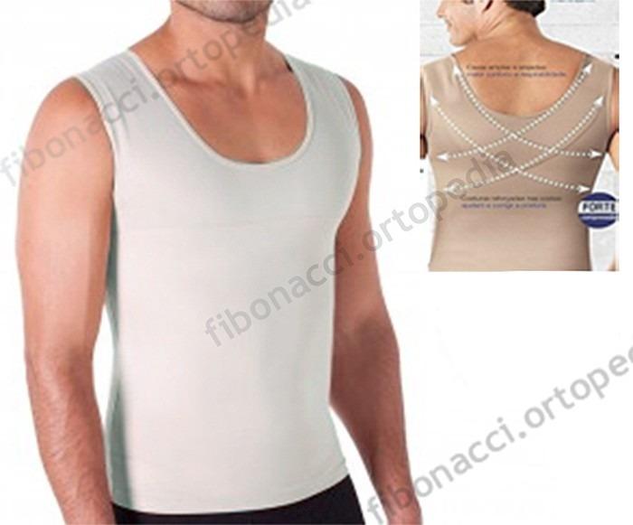 50eb43fe0 Cinta Modeladora Masculina Slim Less Now Redutora Postural - R  59 ...