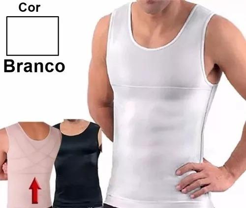 cinta modeladora masculina slim - regata redutor e postural c91