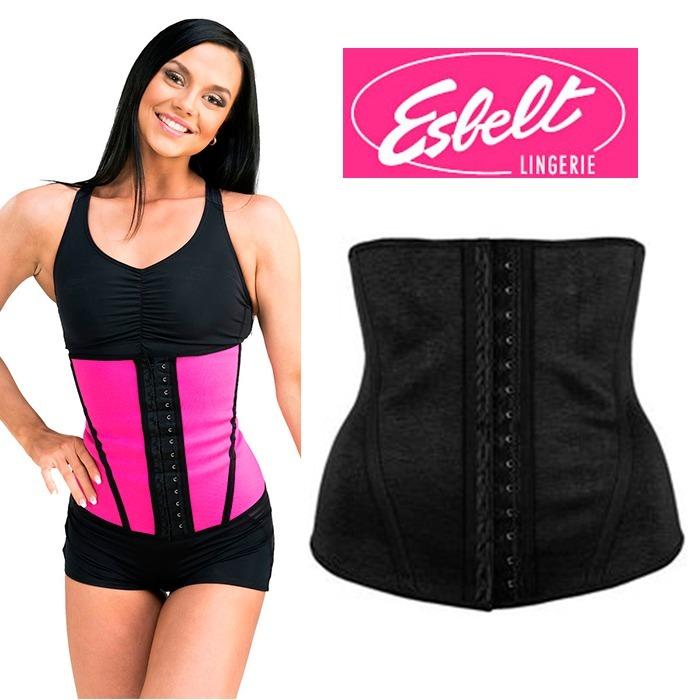 2036d56d6 Cinta Modeladora Waist Trainer Esbelt Tam Pp/p/m/gg - R$ 109,99 em Mercado  Livre