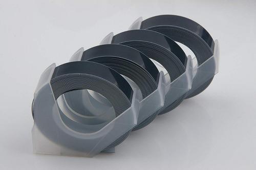 cinta motex negra para rotuladora manual tape writer