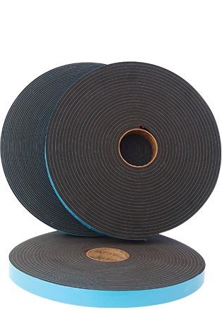 cinta norton doble cara negra de 1/4 x 3/8 $145 rollo